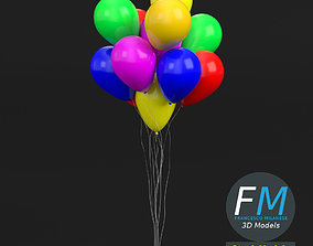 3D model Bunch of Balloons