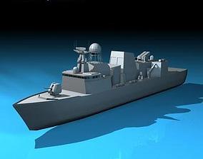3D model Frigate ship