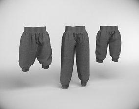 3D sport pants