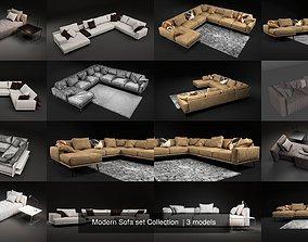 Modern Sofa set Collection 3D
