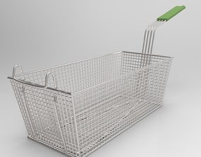 Deep Fry cooking basket 3D model