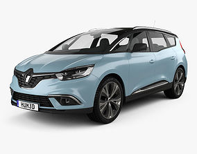 3D model Renault Grand Scenic Dynamique S Nav 2017