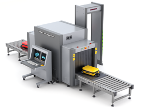 Airport Security Checkpoint 3D model