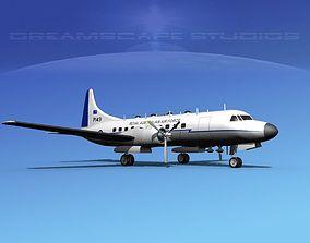 Convair T-29 RAAF 3D model