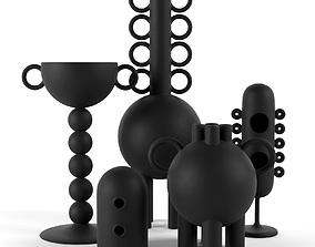 Les Noirs Decorative Objects 3D