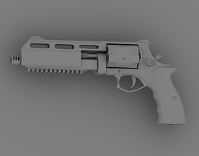 hollow Heavy revolver printable