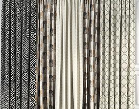 Curtain Set 63 3D