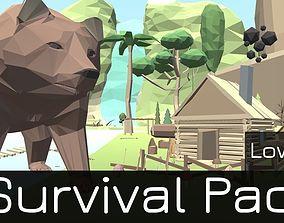 Survival Low Poly Pack 3D asset
