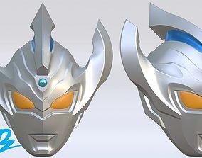 3D printable model Mask Ultraman Taiga