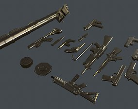 3D model Armament Ready for Killing Zombies Pack