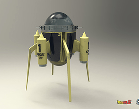 Dragon Ball Z Time Machine for 3D printing