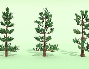 Conifer Tree LOD Pack 3D model