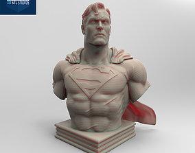 3D printable model SUPERMAN BUST