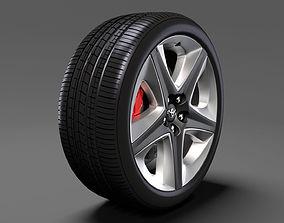 Toyota Prius 2017 wheel 3D model