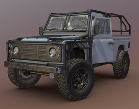 Land Rover Defender - Conqueror 3D model