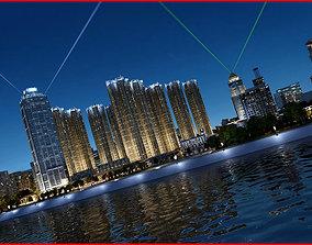 Modern City Animated 141 3D