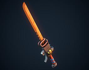 Molten Sword 3D asset
