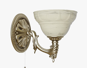 3D model Sconce Eglo Marbella