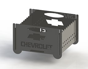 3D printable model Grill with Chevrolet logo 300x300 for 1