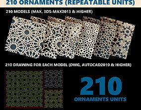 3D model Ornaments Collection