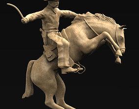 Cowboy 3D Model decor