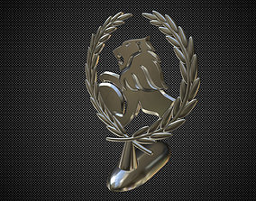 3D Holden hood ornament