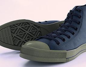 3D Converse All Star Sneakers - Cinema 4D PBR