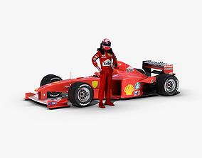 Formula 1 2000 3D model