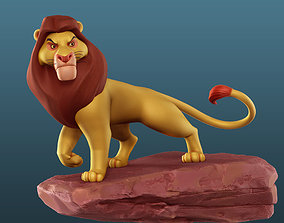 Mufasa - The Lion King 3D Model for Print