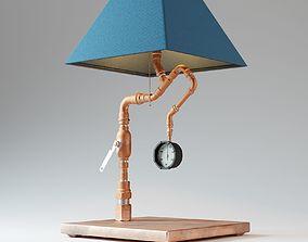Steam Table Lamp 3D model