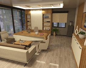 interior design 3D classicwood