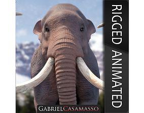 3D Columbian Mammoth - Mammuthus Columbi
