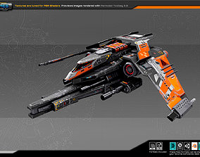 SF REBEL GunShip RF7 3D asset