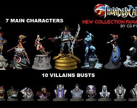 cgpyro Thundercats Collection STL for 3D printing