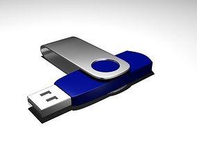 3D asset Pen Drive
