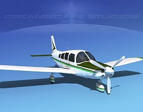 3D model Piper Cherokee Six 260 V05