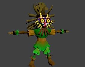 Skull Kid Zelda 3D asset