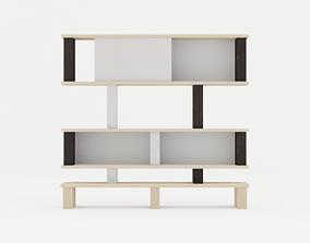 Noobist - Cabinet -Capluma 3D model