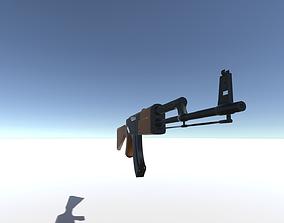 3D Realistic AK-47 Game ready