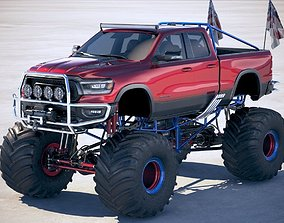 suv Dodge RAM 1500 Rebel 2019 Monstertruck 3D