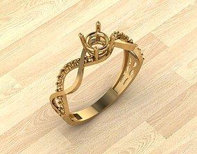 Engagement Ring 1 3D printable model