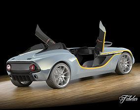 3D Aston Martin CC100 std mat