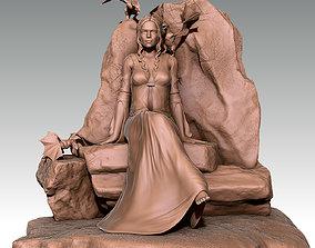 Daenerys 3D printable model