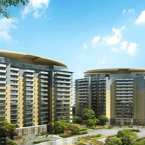 Commercial apartment use of 3d Architectural design