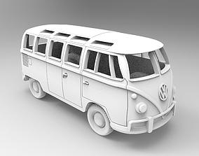 3D print model wheel Volkswagen T1