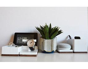 Modular Desk Organizer 3D printable model