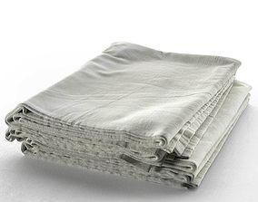 3D model Stack of Towels