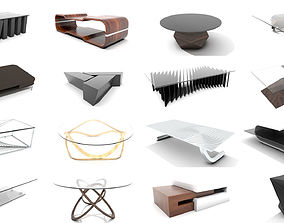 Interior Design PBR Tables Collection 3D
