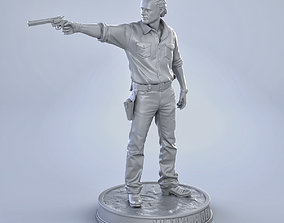 Rick Grimes 3D printable model