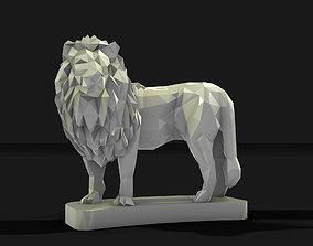 lion 1 3D printable model